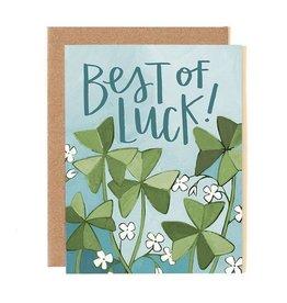 1Canoe2 Best of Luck Clover Card