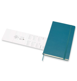 Moleskine 12 Month Weekly Notebook Magnetic Green