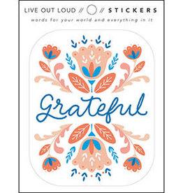 Compendium Grateful Sticker