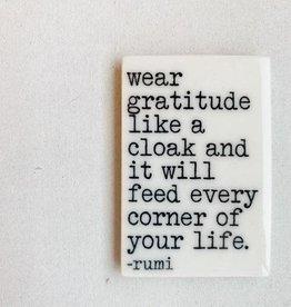 MB Art Studios Wear Gratitude Magnet