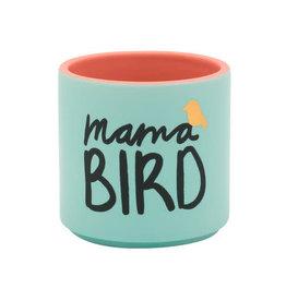 About Face Mama Bird Planter