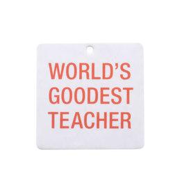 About Face Teacher Air Freshener