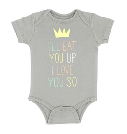 About Face Eat You Up Onesie, 3-6mo.