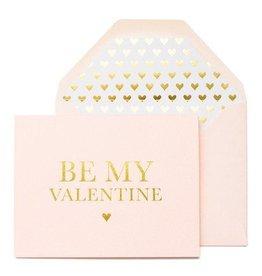 Sugar Paper Be My Valentine Card