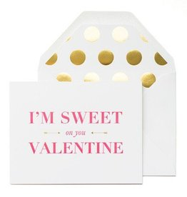 Sugar Paper Sweet on You Card