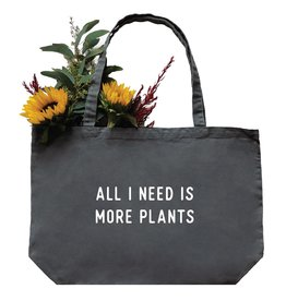 Nature Supply Co. More Plants Tote, Md/Gray