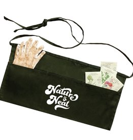 Nature Supply Co. Nature is Neat Apron, Forest Green