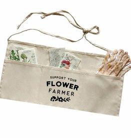 Nature Supply Co. Flower Farmer Apron, Cream