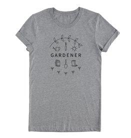 Nature Supply Co. Gardener Tee, Lt Gray (M)