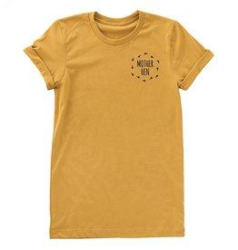 Nature Supply Co. Mother Hen Tee, Mustard (S)