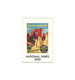 Cavallini Papers 2020 National Parks Wall Calendar