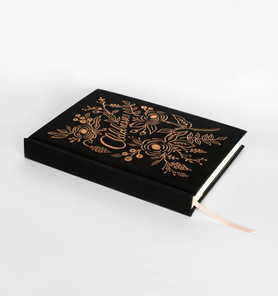 Rifle Paper Raven Address Book