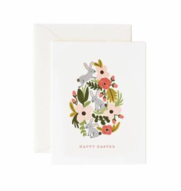 Rifle Paper Floral Easter Egg Card