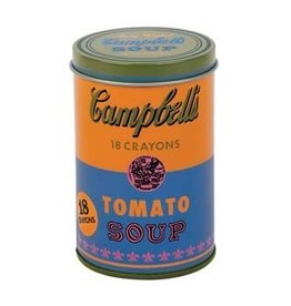 Hachette Book Group Andy Warhol Soup Can Crayons, Orange
