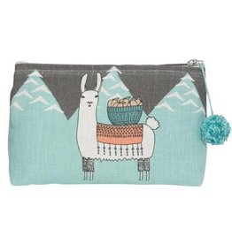 Now Designs Llamarama Cosmetic Bag, Small