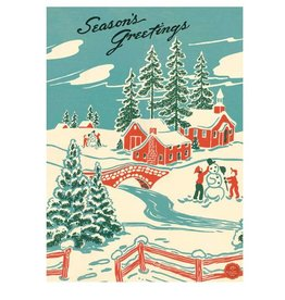 Cavallini Papers Winter Wonderland Wrap