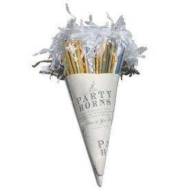 Tops Malibu Party Horn Bouquet - Silver