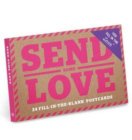 Knock Knock Send Some Love Postcards
