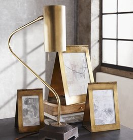 Roost Antiqued Brass Frame, 5x8