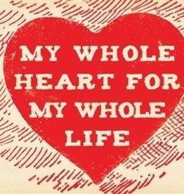 SugarBoo Designs My Whole Heart Postcard