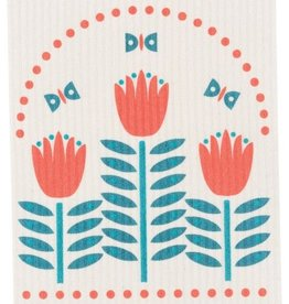 Now Designs Tulipa Swedish Dishcloth
