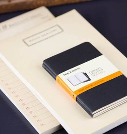 Moleskine Cahier Journal RLD Black, Pocket