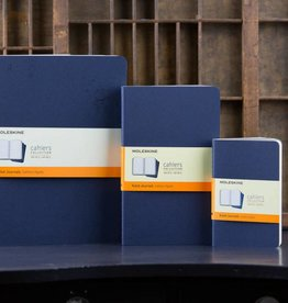 Moleskine Cahier Journal RLD Indigo Blue, Pocket