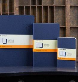 Moleskine Cahier Journal LG RLD Indigo Blue