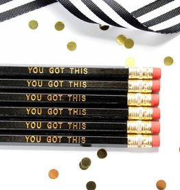Taylor Elliott You Got This Pencils