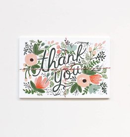 Rifle Paper Wildflower Thank You Postcards