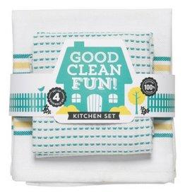 Now Designs Good Clean Fun, Teal