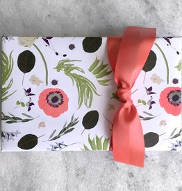 Favorite Story Flower and Laurel Gift Wrap