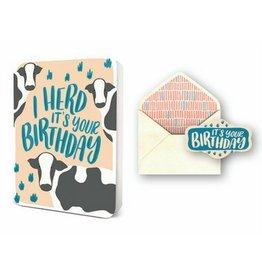 Studio Oh! I Herd It's Your Birthday Card Set