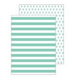 Ann Page Mint Pineapple Pocket Folders
