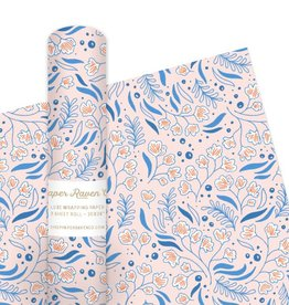Paper Raven Co. Blue Bell Gift Wrap