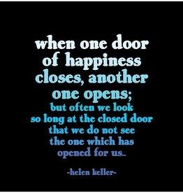 Quotable Door of Happiness Magnet