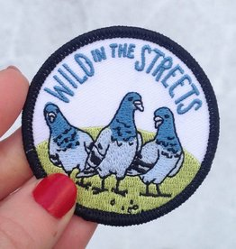 "Frog and Toad ""Wild in the Streets"" Patch"