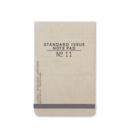Standard Issue The Ledger - Taupe w/ elastic closure