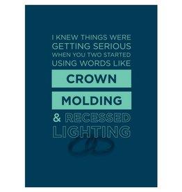 Calypso Cards Crown Molding Card