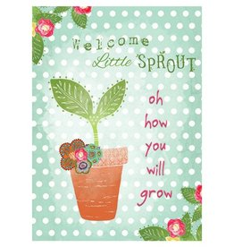 Calypso Cards Baby Sprout Card