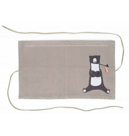 Pleased to Meet Smoking Bear Utility Pouch