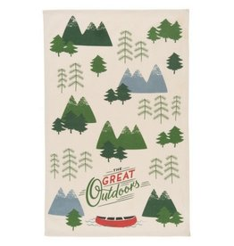 Now Designs The Great Outdoors Tea Towel