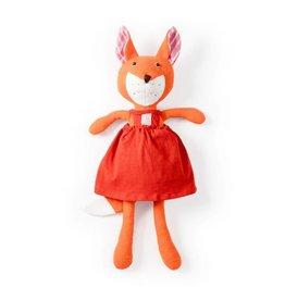 Hazel Village Flora Fox, Red Dress