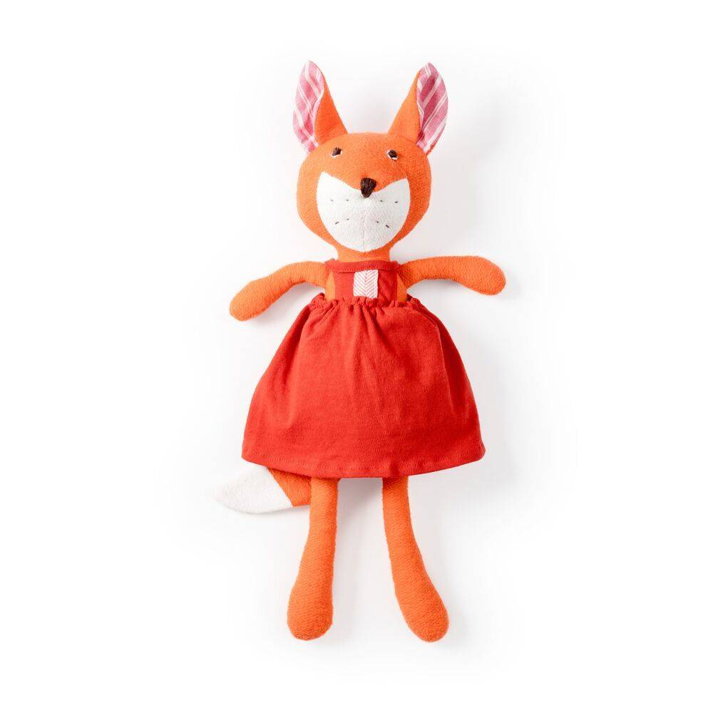 Hazel Village Flora Fox, Red Dress
