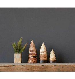 Creative Co-op Hand-Carved Pine Tree