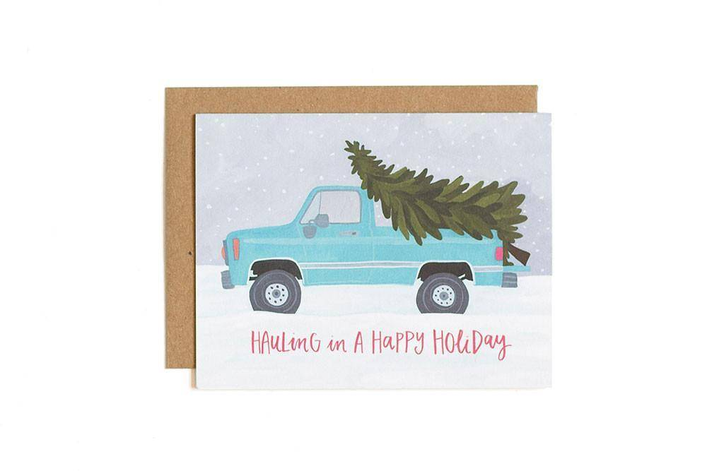 1Canoe2 Hauling in a Holiday Truck, Boxed