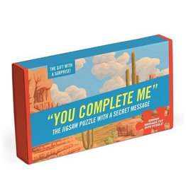 Knock Knock Puzzle:  You Complete Me