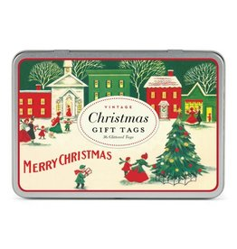 Cavallini Papers Vintage Christmas Gift Tags