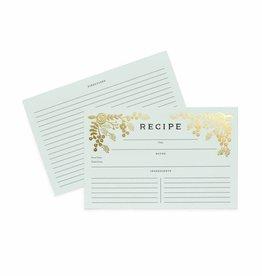 Rifle Paper Golden Garden Recipe Cards