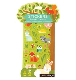 Petit Collage Forest Friends Stickers